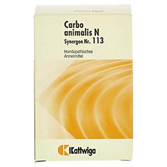 SYNERGON KOMPLEX 113 Carbo animalis N Tabletten 200 Stück - Vorderseite