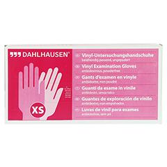 VINYL Handschuhe ungepudert Gr.XS 100 Stück - Vorderseite