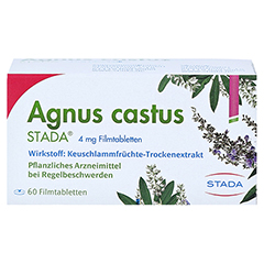 Agnus castus STADA 4mg 60 Stück N2 - Vorderseite