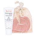 Avène Antirougeurs Tag Beruhigende Emulsion + gratis Avène wiederverwendbare Kosmetikpads 5 St. 40 Milliliter
