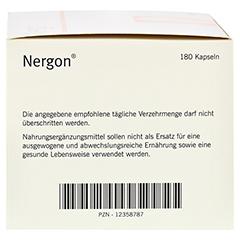 NERGON Kapseln 180 Stück - Linke Seite