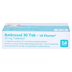 Ambroxol 30 Tab-1A Pharma 20 Stück N1 - Oberseite
