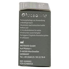 GLUCEOFINE Blutzucker-Teststreifen 50 Stück - Linke Seite