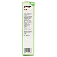 ALPENKRAFT Bronchial-Husten-Sirup Salus 500 Milliliter - Linke Seite