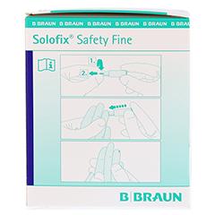 SOLOFIX Safety Fine Lanzetten 25 Gx1,5 mm 200 Stück - Linke Seite