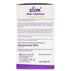XLIM Aktiv Mahlzeit lactosefrei Pulver 10x20 Gramm - Rechte Seite