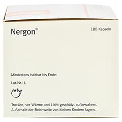 NERGON Kapseln 180 Stück - Rechte Seite