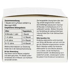 KINDERLAX elektrolytfrei Plv.z.Her.e.Lsg.z.Einn. 30 Stück - Rechte Seite