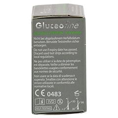 GLUCEOFINE Blutzucker-Teststreifen 50 Stück - Rechte Seite