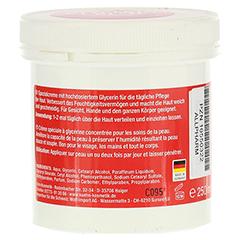 GLYCERIN CREME 250 Milliliter - Rückseite