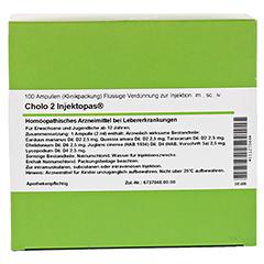 CHOLO 2 Injektopas Ampullen 100 Stück - Rückseite
