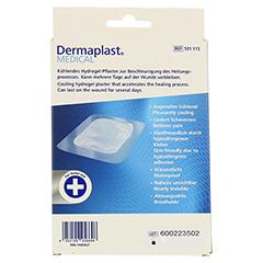 DERMAPLAST MEDICAL Brandwunde 7,5x10 cm 3 Stück - Rückseite