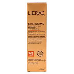 LIERAC Sunissime Gesicht LSF 50+ Creme 40 Milliliter - Rückseite