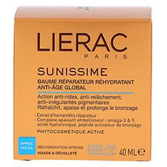LIERAC Sunissime Gesicht Apres Balsam 40 Milliliter - Rückseite