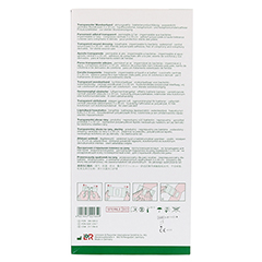 CURAPOR Wundverband steril transparent 10x25 cm 25 Stück - Rückseite
