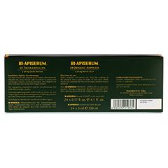 BI-APISERUM Trinkampullen mit Gelee Royale 24x5 Milliliter - Rückseite