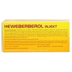 HEWEBERBEROL injekt Ampullen 50 Stück N2 - Rückseite