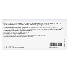 NERVUS FACIALIS GL D 6 Ampullen 10x1 Milliliter N1 - Rückseite