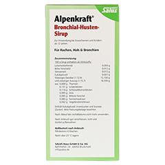 ALPENKRAFT Bronchial-Husten-Sirup Salus 500 Milliliter - Rückseite