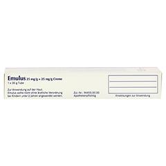 EMULUS 25 mg/g + 25 mg/g Creme 30 Gramm N3 - Oberseite
