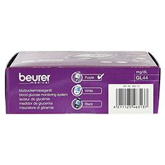 BEURER GL44 Blutzuckermessgerät mg/dl lila 1 Stück - Oberseite