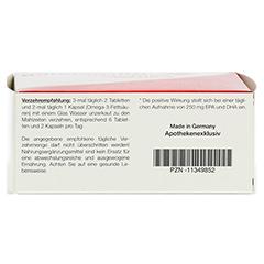 GALACORDIN complex Omega-3 Tabletten 60 Stück - Unterseite