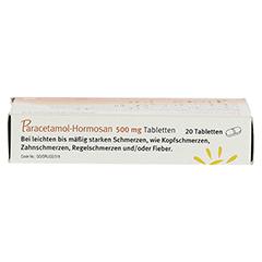 Paracetamol-Hormosan 500mg 20 Stück N2 - Unterseite