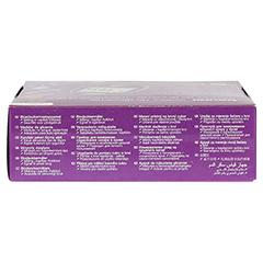 BEURER GL44 Blutzuckermessgerät mg/dl lila 1 Stück - Unterseite