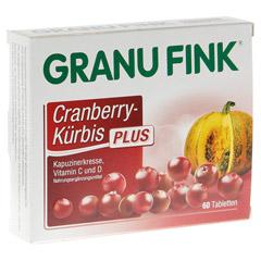 GRANU FINK Cranberry-Kürbis PLUS Tabletten 60 Stück