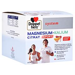 DOPPELHERZ Magnesium+Kalium Citrat system Granulat 40 Stück