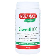 EIWEISS 100 Himbeer Quark Megamax Pulver 400 Gramm