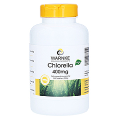 CHLORELLA 400 mg Tabletten 500 Stück
