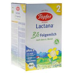 TÖPFER Lactana Bio 2 Pulver 600 Gramm