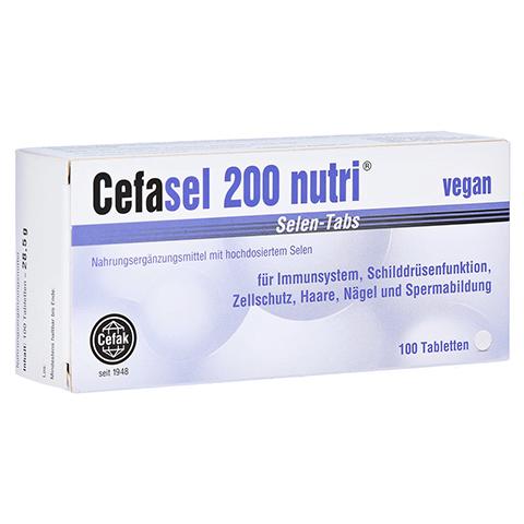 CEFASEL 200 nutri Selen-Tabs 100 Stück