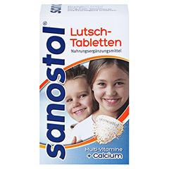 Sanostol Lutschtabletten + gratis sanostol Drachen-Schmatz 75 Stück - Vorderseite