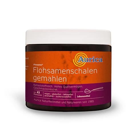 FLOHSAMENSCHALEN gemahlen Pulver 300 Gramm