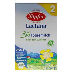 TÖPFER Lactana Bio 2 Pulver 600 Gramm - Vorderseite