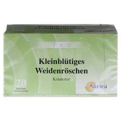 Kleinblütiges Weidenröschen Tee Filterbeutel 20x1.75 Gramm - Vorderseite