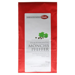 Frauenmantel Mönchspfeffer Tee Caelo HV-Packung 70 Gramm - Vorderseite