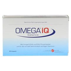 OMEGA IQ Kapseln 45 Stück - Vorderseite