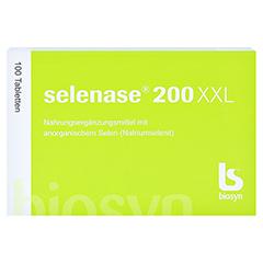 Selenase 200 XXL Tabletten 100 Stück - Vorderseite