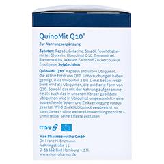 Quinomit Q10 Kapseln 60 Stück - Linke Seite
