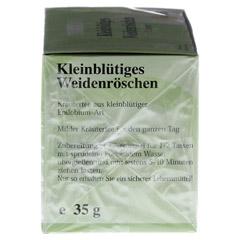 Kleinblütiges Weidenröschen Tee Filterbeutel 20x1.75 Gramm - Linke Seite