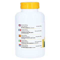 CHLORELLA 400 mg Tabletten 500 Stück - Rechte Seite