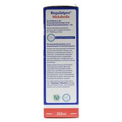 REGULATPRO Metabolic flüssig 350 Milliliter - Rechte Seite