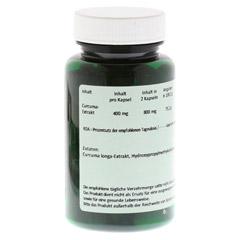CURCUMA 400 mg Kapseln 60 Stück - Rückseite