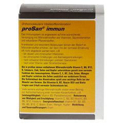 PROSAN immun Pulver 30 Stück - Rückseite