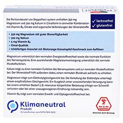 DOPPELHERZ Magnesium+Kalium Citrat system Granulat 40 Stück - Rückseite