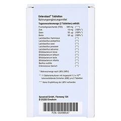 ENTEROBACT Tabletten 120 Stück - Rückseite