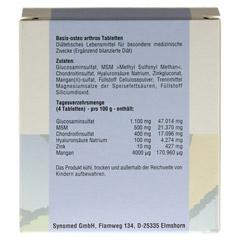 BASIS OSTEO arthros Tabletten 120 Stück - Rückseite